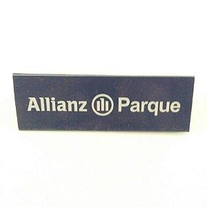 Placa de Publicidade com Base - Personalizado