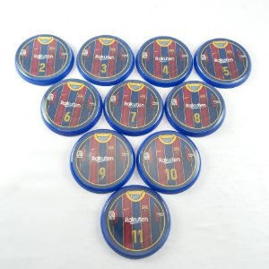 10 Botões - Acrílico Cristal 49mm - Barcelona