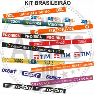 Adesivos de Placas de Publicidade para Mesa de Futebol de Botão