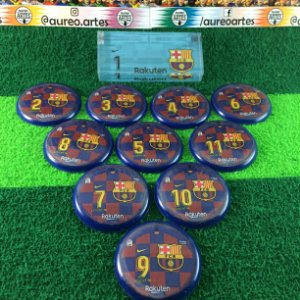 Time De Futebol De Botão Barcelona - Vidrilha 45mm