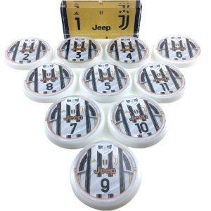 Time De Futebol De Botão - Acrílico Cristal 49mm - Juventus
