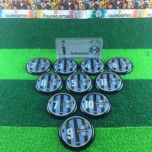 Time De Futebol De Botão - Vidrilha 45mm - Grêmio