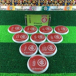 Time De Futebol De Botão - Vidrilha 45mm - Internacional