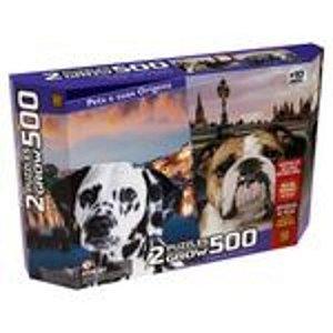 Puzzle 500 peças Duplo Pets e suas Origens