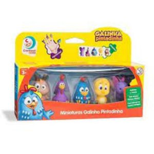 Dedoches da Galinha Pintadinha - Cardoso Toys 3038