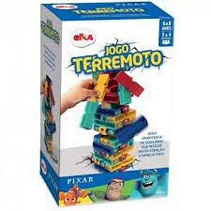 Jogo Terremoto Disney Pixar 1173 Elka