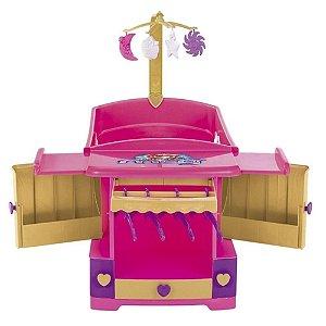 Berço de Boneca Infantil Princess Meg Com Acessórios - 8101