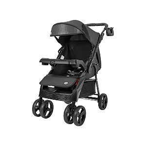 Carrinho de Bebê Black - Tutti Baby