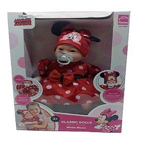 Boneca Minnie 48cm  Classic Dolls Recém Nascido - Roma