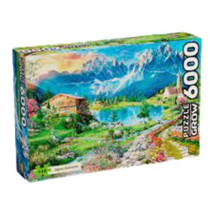 Puzzle 6000 peças Alpes Italianos - Grow