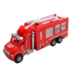 Caminhão De Bombeiro Fricção 9903-Cks