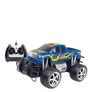 Carro Giant Four Wheeler azul Pick-up 7 Funções-cks