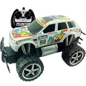 Carro de Brinquedo Giant Four Wheeler Rally Branco CKS