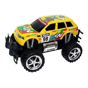 Carro de Brinquedo Giant Four Wheeler Rally Amarelo CKS