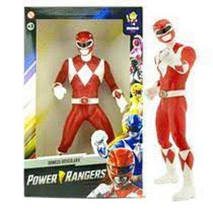 Boneco Power Rangers Vermelho - Mimo