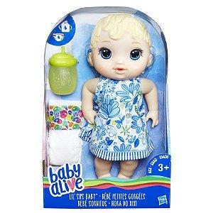 BABY ALIVE HORA DO XIXI LOIRA NEW