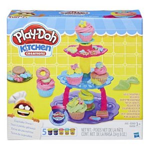 PLAY DOH TORRE DO CUPCAKE