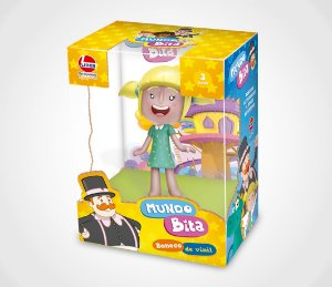 BONECO VINIL LILA MUNDO BITA- 2845