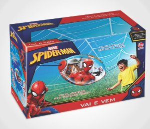 BRINQUEDO VAI E VEM SPIDER MAN LIDER- 2058