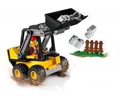 LEGO City 60219 Trator carregador da Construção