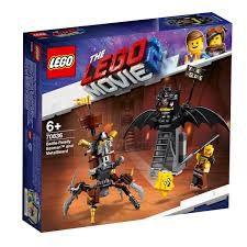 LEGO The Movie Batman e Barba de Ferro Prontos para Batalha