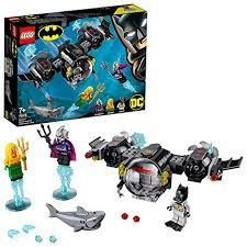 LEGO Super Heroes DC Comics Batman e Aquaman Contra o Mestre do Oceano