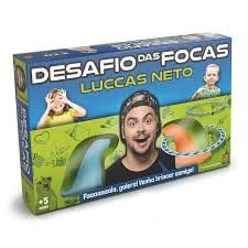 JOGO DESAFIO DAS FOCAS LUCCAS NETO GROW- 3639