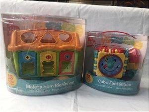 CUBO FANTÁSTICO + MALETA C/ BICHINHOS - MILLA