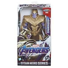 "BONECO AVENGERS AND GAME "" THANOS TITAN HERO SERIES"