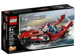 LEGO TECHNIC - MODELO 2 EM 1: POTENTES BARCOS A MOTOR