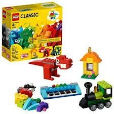 LEGO CLASSIC - PEÇAS E IDEIAS - 11001