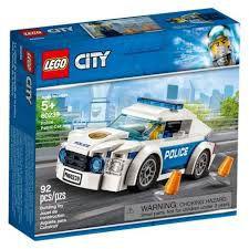 LEGO CITY - CARRO PATRULHA DA POLICIA