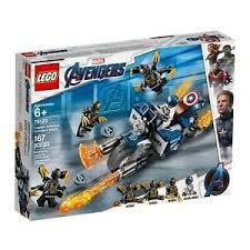 LEGO MARVEL SUPER HEROES - CAPITAO AMERICA: ATAQUE OUTRIDERS