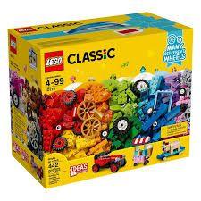 LEGO CLASSIC - PEÇAS SOBRE RODAS