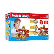BRINQUEDO POSTO DE SERVIÇO - BABY BRINK