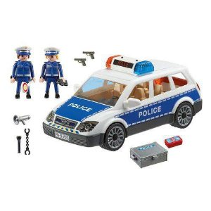 PLAYMOBIL CITY VIATURA POLICIAL COM GUARDAS SUNNY