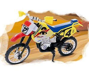 BRINQUEDO MOTOCROSS COM ACESSORIOS - PICA PAU