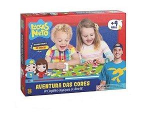 JOGO AVENTURA DAS CORES LUCCAS NETO GROW- 03575