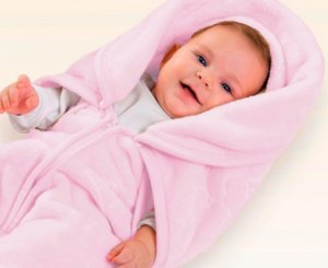 BABY SAC  ROSA COM RELEVO MICROFIBRA ORIGINAL JOLITEX 0186