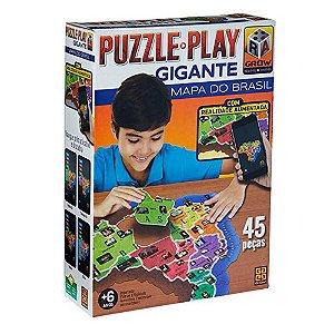 PUZZLE PLAY GIGANTE MAPA DO BRASIL GROW- 3635
