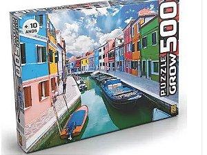 QUEBRA CABEÇA PUZZLE 500 PÇS CANAL DE BURANO GROW- 3457