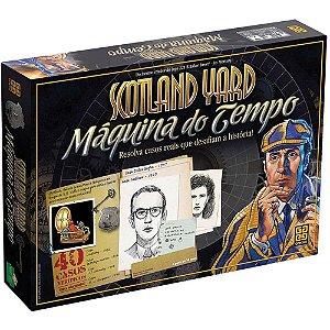 JOGO SCOTLAND YARD MAQUINA DO TEMPO- GROW