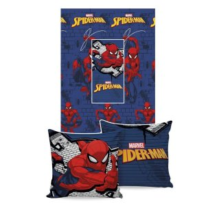 MANTA ALMOFADA SPIDER MAN MARVEL JOLITEX