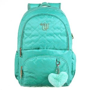 MOCHILA LOVE GREEN ORIGINAL CAPRICHO- 11899