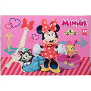 TAPETE MINNIE PARIS DISNEY ANTIDERRAPANTE 70X110 CM JOLITEX