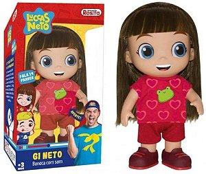 BONECA ARTICULADA GI NETO COM SOM BABY BRINK- 1073
