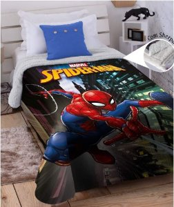 COBERTOR JUVENIL DIGITAL HD SPIDER-MAN MARVEL JOLITEX