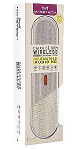 CAIXA DE SOM BLUETOOTH 5.0 AUDIO HD BTs15 DOURADO MAKETECH