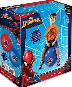 BRINQUEDO BOLA PULA PULA SPIDER-MAN LIDER- 530