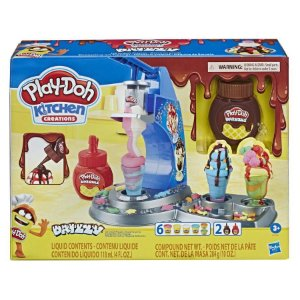 PLAY DOH KITCHEN CREATIONS MAQUINA DE SORVETE - HASBRO